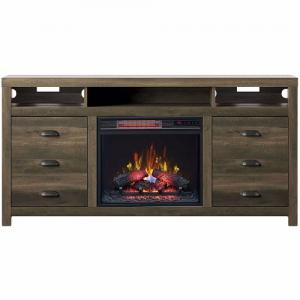 Classic FlameWilder Fireplace Media Mantel w/Insert