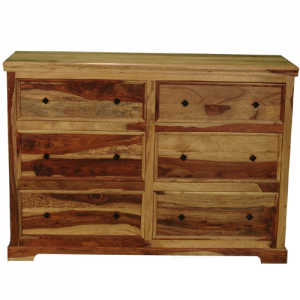 Monsoon Pacific6 Drawer Montana Dresser