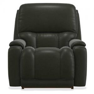La-Z-BoyGreyson Leather Power Recliner w/Headrest & Lumbar w/Remote Control