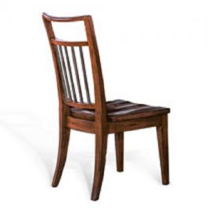 Sunny DesignsMossy Oak Nativ Dining Chair w/Wood Seat