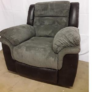CheersGlider Recliner 2-Tone Grey