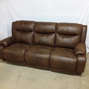 Southern MotionVelocity Power Reclining Sofa w/Headrest