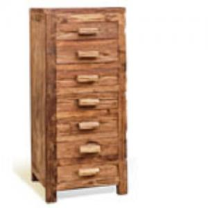 Sunny DesignsArtifax Teak Drawer Chest