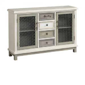 Coast to CoastTwo Door/Four Drawer Credenza