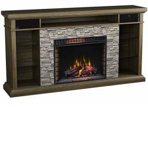 Classic FlameEllistone 28MM778-B523 Fireplace Mantel w/ 28II042FGL Insert