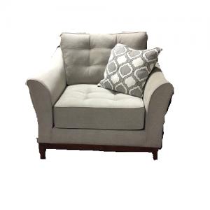 StantonLarge Chair Empress Platinum