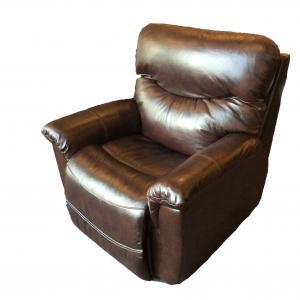 La-z-BoyJames Leather Power Recliner w/Headrest
