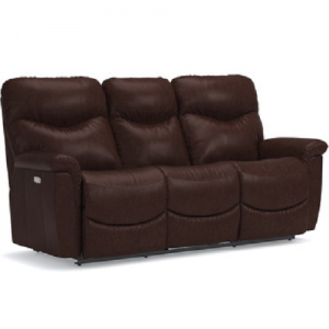 La-z-BoyJames Leather Power Headrest Reclining Sofa
