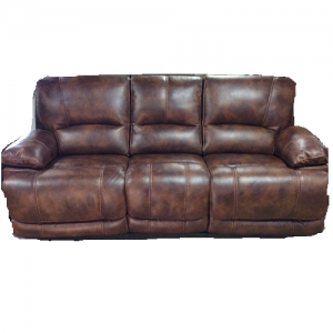 CheersPower Reclining Sofa w/Headrest