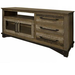 "Artisan IfdLoft Brown 62"" Entertainment Center"
