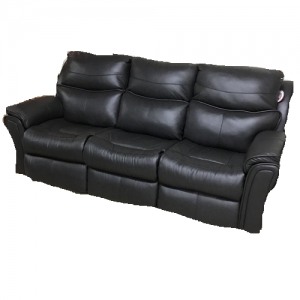Southern MotionPower Leather Reclining Sofa w/Memory Plus