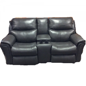 Southern MotionPower Reclining Loveseat/Leather w/ Memory Plus
