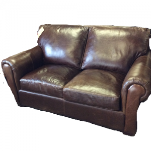 Usa PremiumLeather Loveseat