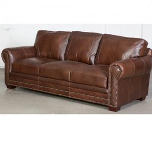 Usa PremiumStationary Leather Sofa