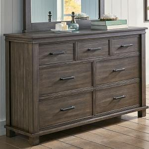 A-AmericaGlacier Point  Seven  Drawer Dresser