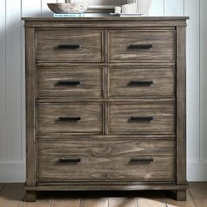 A-AmericaGlacier Point  Seven  Drawer  Chest
