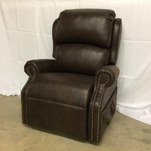 Ultra ComfortLift  Recliner. Medium w/NailHeads