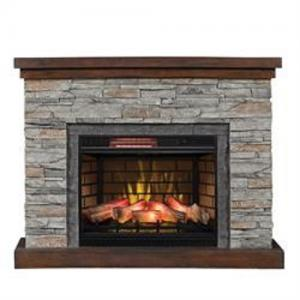 "Classic FlameEdgebrook 26"" Entertainment Fireplace & Insert"