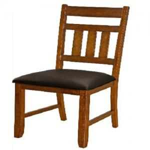 A-AmericaMason Slat Back Upholstered Dining Chair