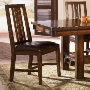 A-AmericaMesa Rustica Slat Back Side Chair