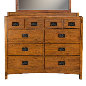 A-AmericaMission Hill 10 Drawer Dresser