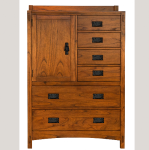 A-AmericaMission Hill Door Chest