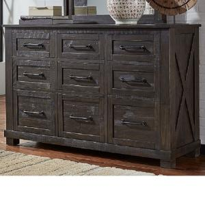 A-AmericaSun Valley 9 Drawer Dresser