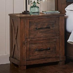 A-AmericaSun Valley Night Stand w/USB