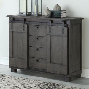 Coast To CoastFour Drawer Two Door Media Cabinet