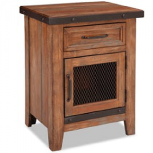 InterconTaos 1 Drawer Nightstand