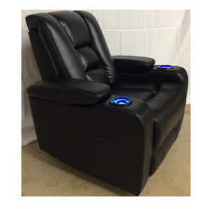 CheersPower Recliner  w/Headrest & Lights