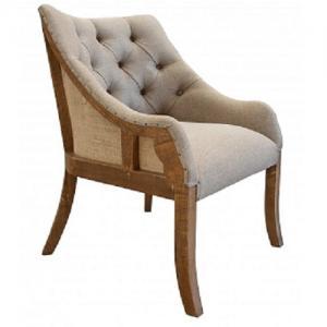 Artisan IfdAntique  Tuffed Arm Chair