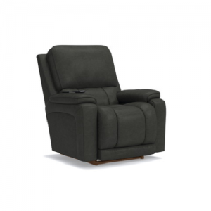 La-z-BoyGreyson Leather Power Recliner w/Headrest & Lumbar