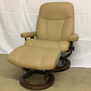 EkornesStressless Consul Large Batick Latte Walnut Base