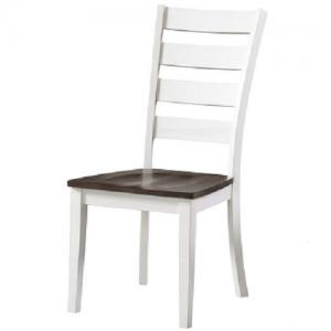 InterconKona Ladderback Side Chair w/Wood Seat