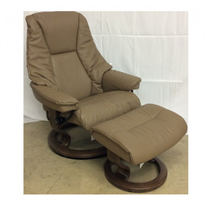 EkornesStressless Live Large Walnut Base