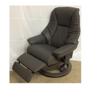 EkornesStressless Live Medium w/Leg Comfort/Grey Base