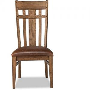 InterconRiver Dining Lattice Back Side Chair