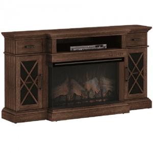 "Classic FlameHamilton Panorama 36"" Media Mantel & Insert(36MM30608-M374&36II542TGL)"