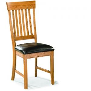 InterconFamily Dining Slat Back Chair  W/Cushion