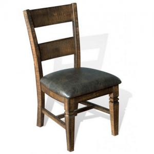 Sunny DesignsHomestead Ladder Back Dining Chair w/Cushion Seat