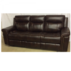 CheersPower Headrest Reclining Sofa