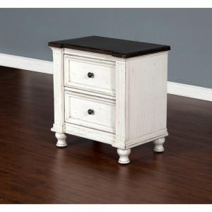 Sunny DesignsCarriage House 2 Drawer Nightstand